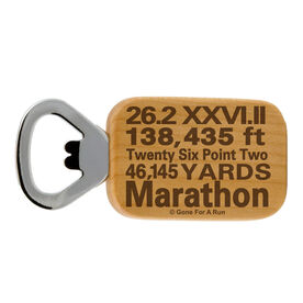 26.2 Math Miles Maple Bottle Opener