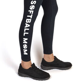 Softball Leggings - Softball Mom