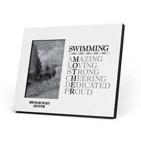 Swimming Photo Frame - Mother Words