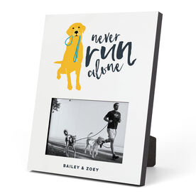 Running Photo Frame - Never Run Alone