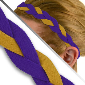 GripBand Headband - Gold/Purple