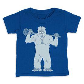 Guys Lacrosse Toddler Short Sleeve Tee - Tough Yeti