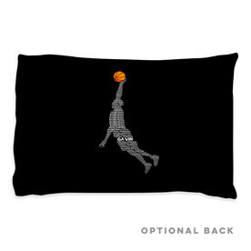 Basketball Pillowcase - Words Guy