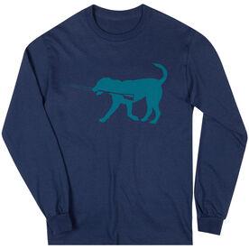 Crew Tshirt Long Sleeve Cody The Crew Dog