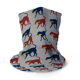 Baseball Multifunctional Headwear - Buddy The Baseball Dog Pattern RokBAND