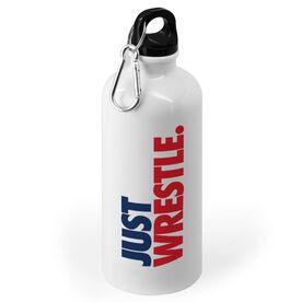 Wrestling 20 oz. Stainless Steel Water Bottle - Just Wrestle