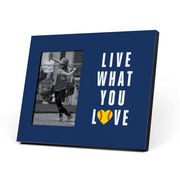 Softball Photo Frame - Live What You Love