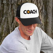 Basketball Trucker Hat - Coach