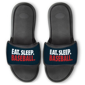 Baseball Repwell® Slide Sandals - Eat. Sleep. Baseball.