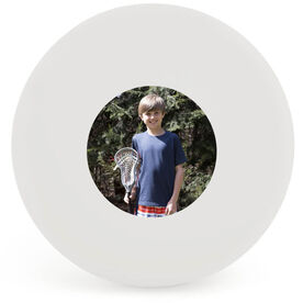 Custom Picture Lacrosse Ball (White Ball)