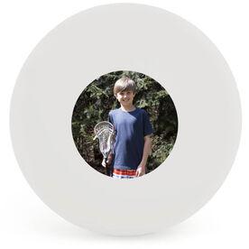 Custom Picture Lacrosse Ball (White Ball)
