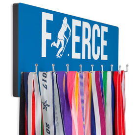 Field Hockey Hooked on Medals Hanger - Fierce