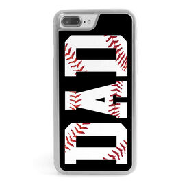 Baseball iPhone® Case - Dad With Stitches