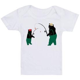 Fly Fishing Baby T-Shirt - Bears