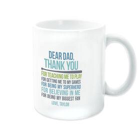 Softball Coffee Mug Dear Dad