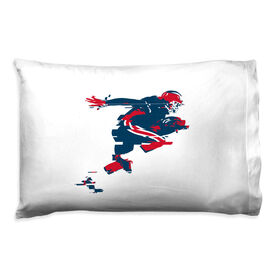 Football Pillowcase - In The Blur Of A Moment