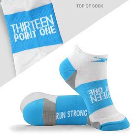 Socrates® Woven Performance Socks 13.1 (Baby Blue)