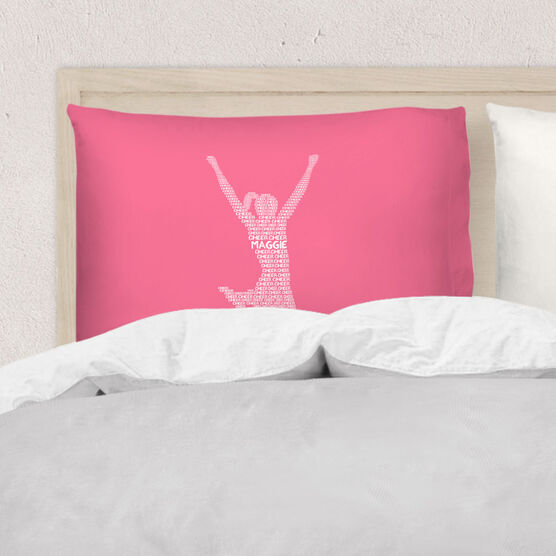 Cheerleading Pillowcase - Personalized Cheer Words