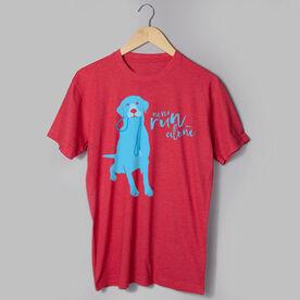 Running Short Sleeve T-Shirt - Never Run Alone