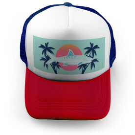 Fly Fishing Trucker Hat Gray Ghost Of The Flats