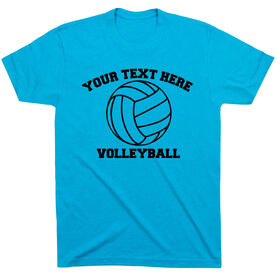 Custom Volleyball T-Shirt Short Sleeve