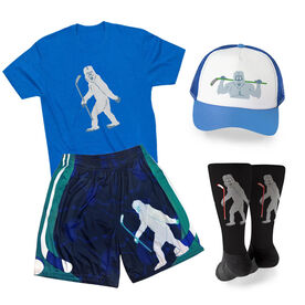 Yeti to Hockey Outfit