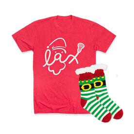 Girls Lacrosse Gift Set - Santa