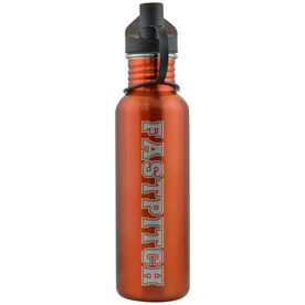 Varsity Fastpitch 24 oz Stainless Steel Water Bottle
