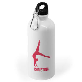 Gymnastics 20 oz. Stainless Steel Water Bottle - Gymnast Female Silhouette