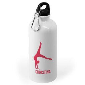 Gymnastics 20 oz. Stainless Steel Water Bottle - Gymnast Female Silhouette