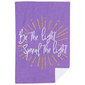 Premium Blanket - Be The Light Spread The Light