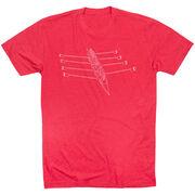 Crew Short Sleeve T-Shirt - Crew Row Team Sketch