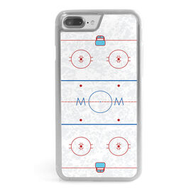 Hockey iPhone® Case - Ice Hockey Rink Mom