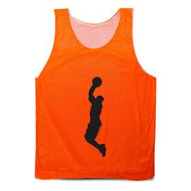 Basketball Pinnie - Silhouette