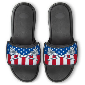 Guys Lacrosse Repwell™ Slide Sandals - USA Lacrosse