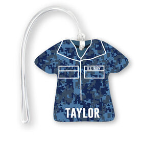 Personalized Jersey Bag/Luggage Tag - Navy Camo