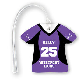 Field Hockey Jersey Bag/Luggage Tag - Personalized Jersey