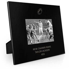 Football Engraved Picture Frame - Football