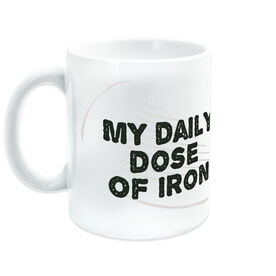 Golf Coffee Mug My Daily Dose Of Iron