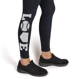 Softball Leggings Love