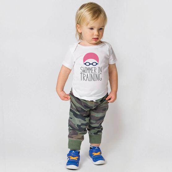 Swimming Baby T-Shirt - Swimmer In Training