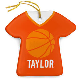 Basketball Porcelain Ornament That's My Jersey