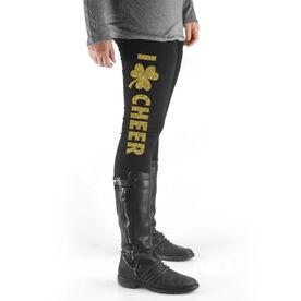 Cheer High Print Leggings I Shamrock Cheer