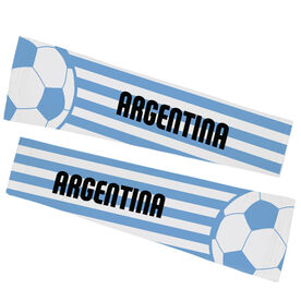 Soccer Printed Arm Sleeves - Soccer Argentina