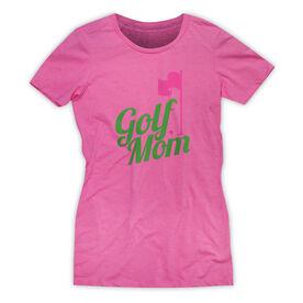 Women's Everyday Golf Tee Golf Mom [Hot Pink/Adult Medium] - SS
