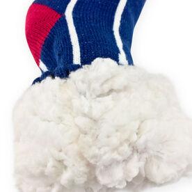 Crew Slipper Socks with Sherpa Lining