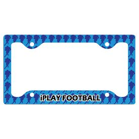 Iplay Football License Plate Holder