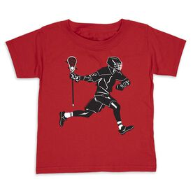 Guys Lacrosse Toddler Short Sleeve Tee - Lax Player