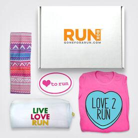 RUNBOX #2 - RUNBOX Gift Set - Love 2 Run
