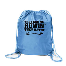 Crew Sport Pack Cinch Sack - They See Me Rowin'